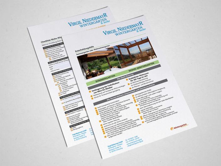 Wintergarten Checkliste