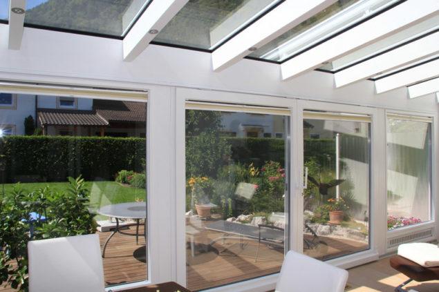 Wärmeschutzglas für den Wintergarten
