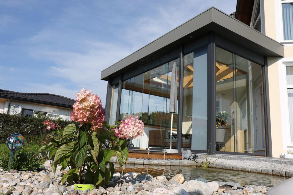 Sommergarten-Glaskuppel Oberösterreich