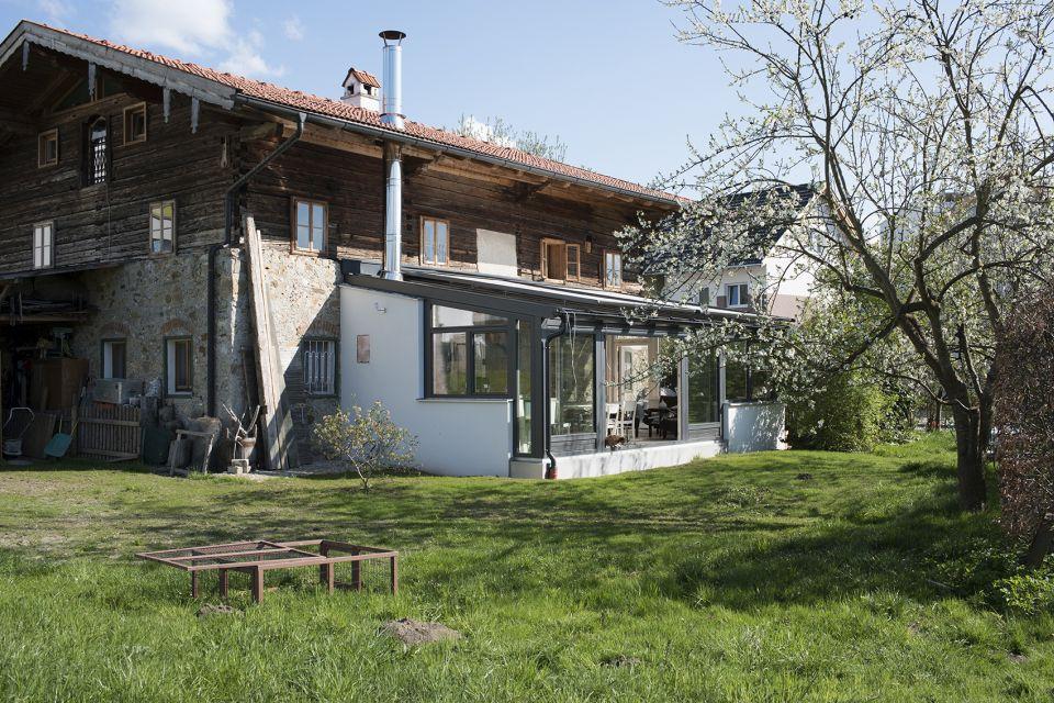 Wintergarten-Anbau an denkmalgeschütztes Haus